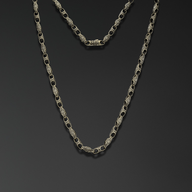 """Symbols of Northern Rus"" chain (thin)"