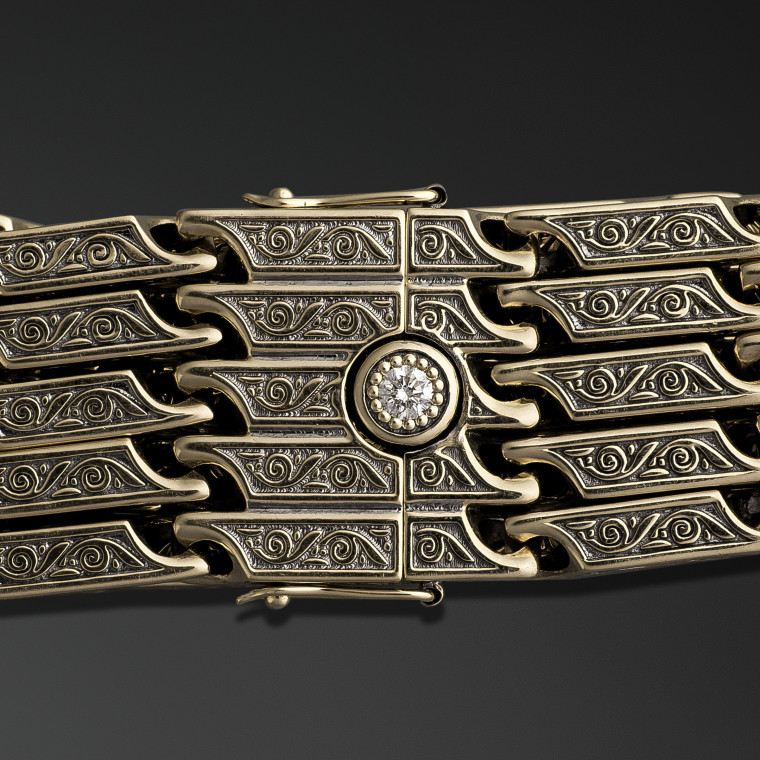 Ancient Traditions  chain bracelet