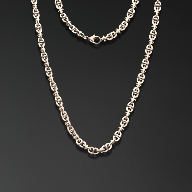 """Cross-shaped"" chain"