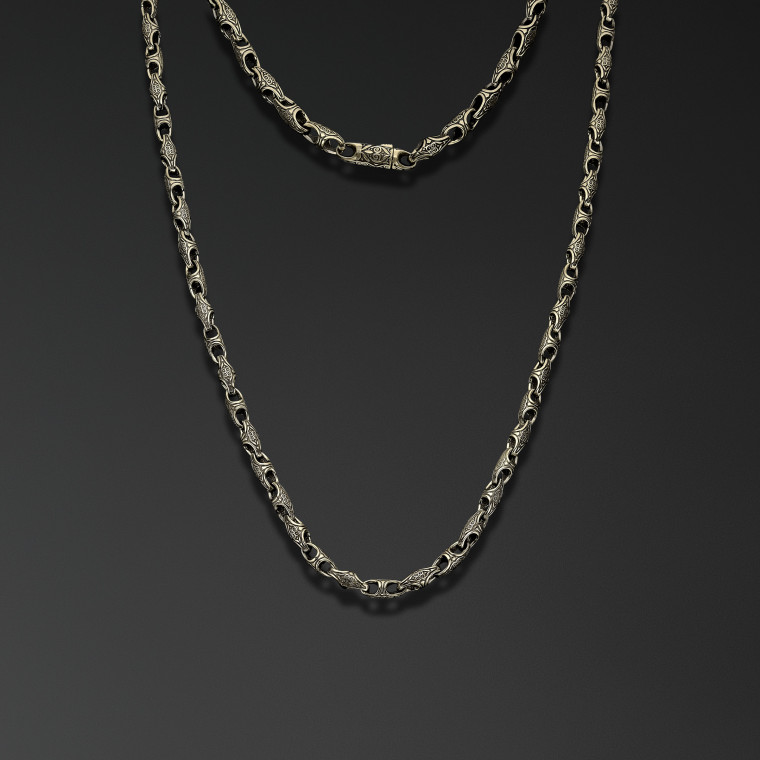 """Symbols of Northern Rus"" chain(thin)"