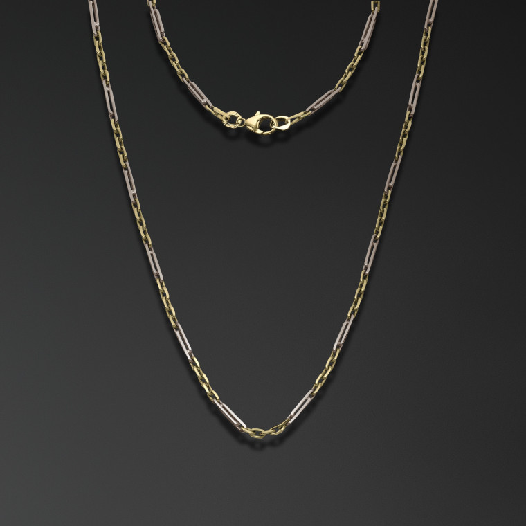 Classic Chain with Elongated Links