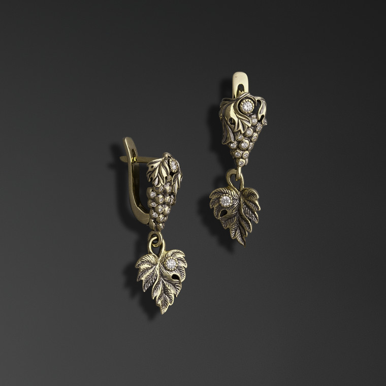 Beneficial Vine Earrings
